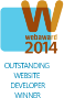 Outstanding Website Developer Winner 2014