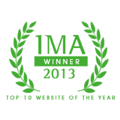 IMA Top 10 Websites of the Year 2013