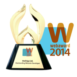 Outstanding Website Developer Webaward 2014